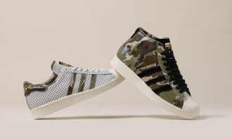 La collaboration entre Adidas, Dj Clark Kent et Russ Bengston nous proposant un pack.
