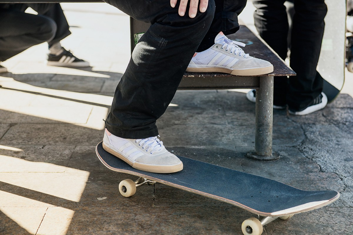 Adidas et Lucas Puig créent la sneakers Adidas Lucas Premiere ADV