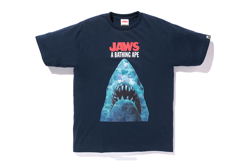 BAPE sort sa nouvelle collection BAPE x Jaws