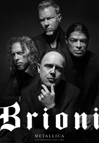 Metallica est le nouveau visage de la marque italienne Brioni