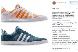 La collaboration d'Adidas et Palace