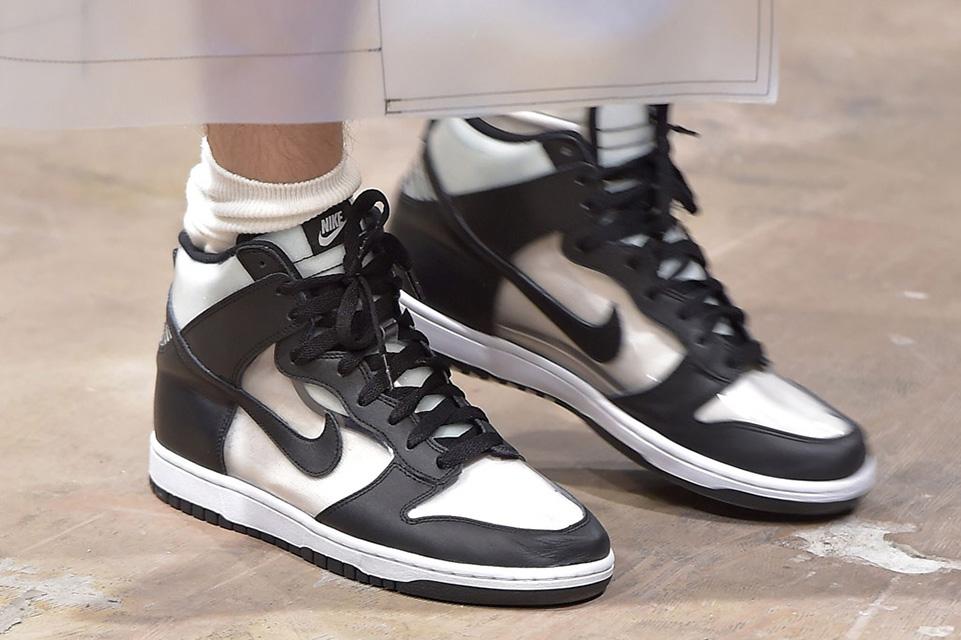 Comme des Garçons et Nike modifient la silhouette de la Nike Dunk
