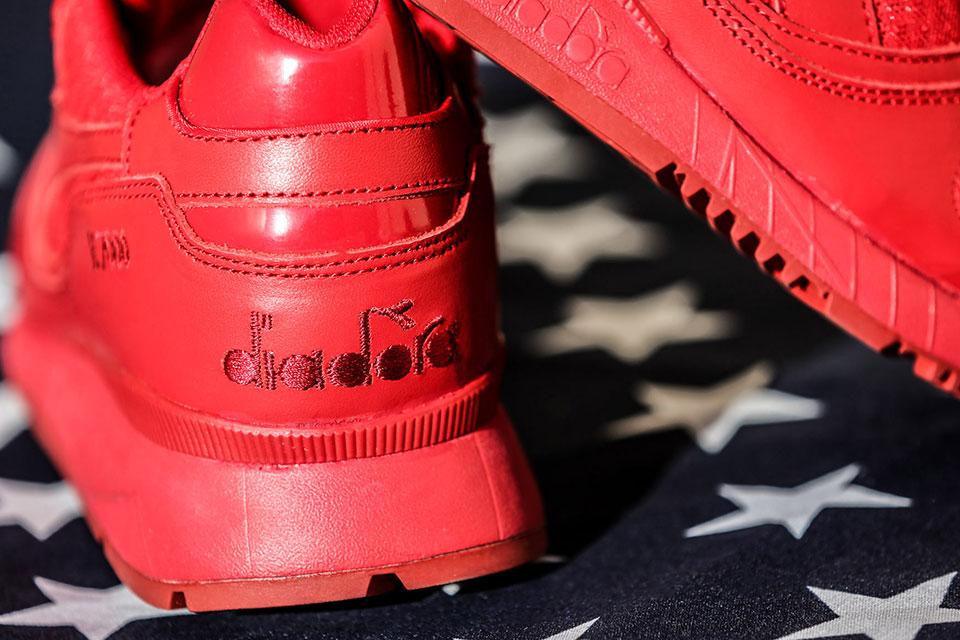 Diadora sort une sneakers en l'honneur des États-Unis, la Espresso Americano Independence