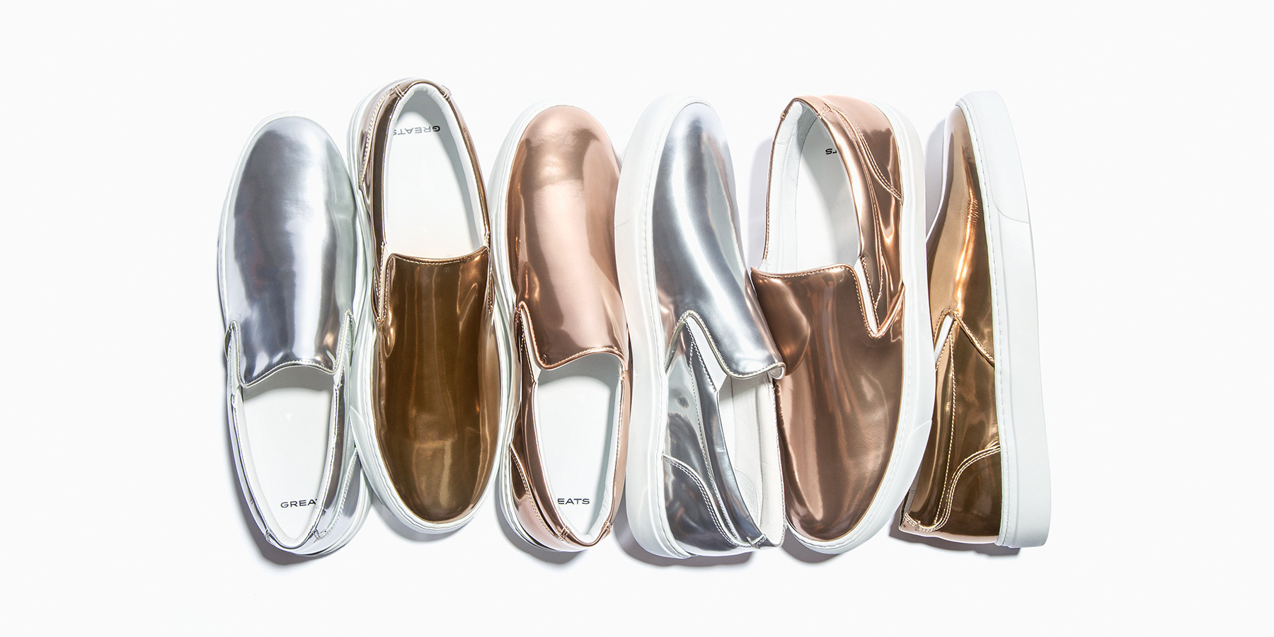 GREATS dévoile ses sneakers métallisées pour les Jeux Olympiques de Rio