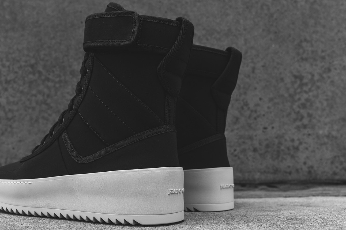 Jerry Lorenzo sort sa première sneakers, la Fear of God Military