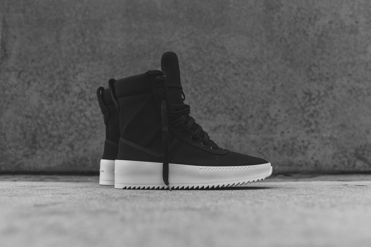 Jerry Lorenzo sort sa première sneakers, la Fear of God Military.5