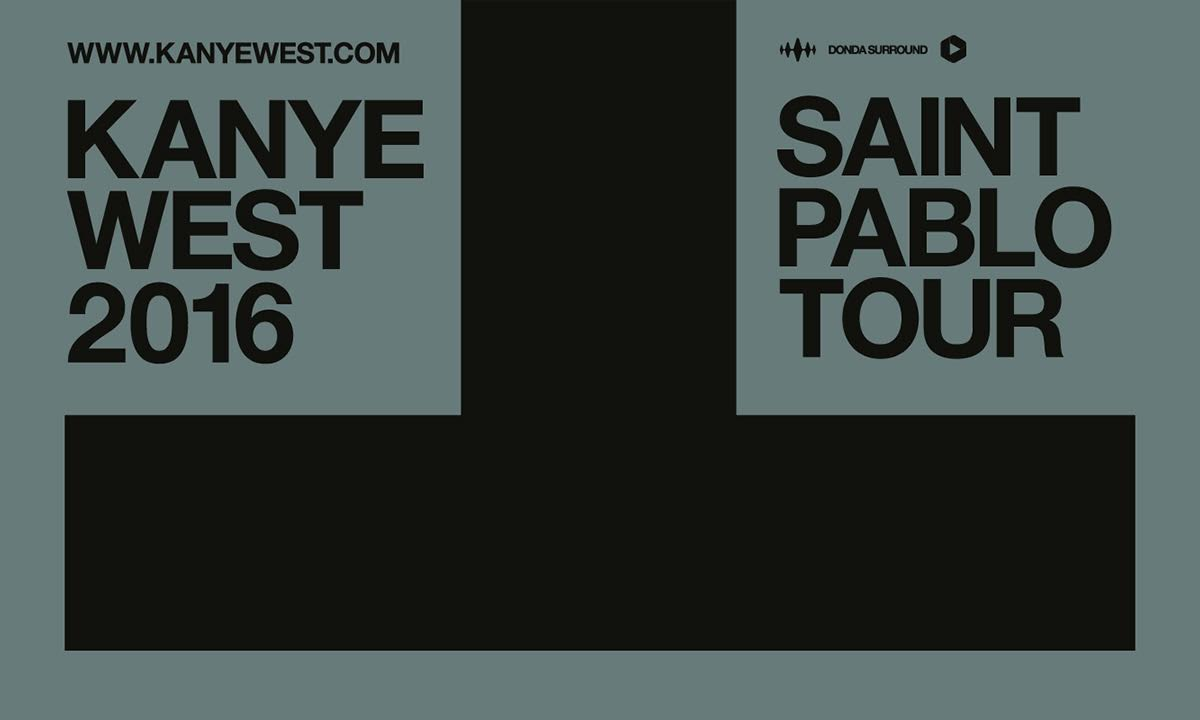 Kanye West a annoncé les dates de The Saint Pablo Tour