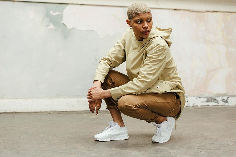 Le Coq Sportif et Pam Pam London sortent deux sneakers blanches