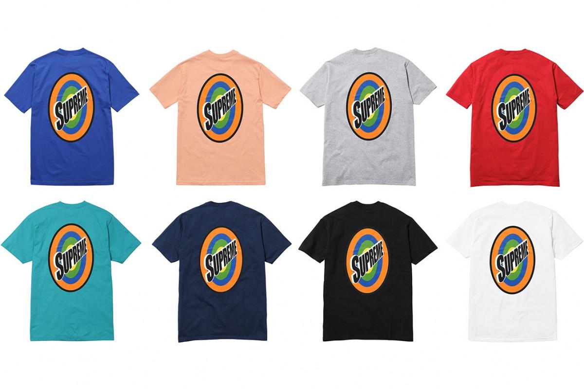 Supreme sort 5 nouveaux t-shirts.10