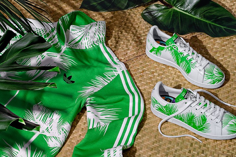 Nouvelle collection « Palm Tree » signée adidas Originals x Pharrell x BBC pack