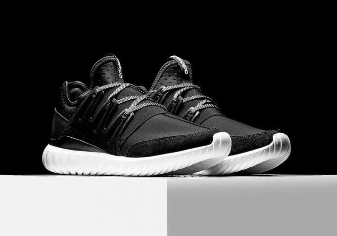 adidas Originals passe du côté obscur et balance la Tubular Radial «Dark Knight»
