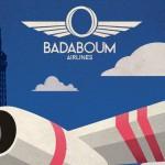 Affiche des soirées Badaboum Airlines du badaboum