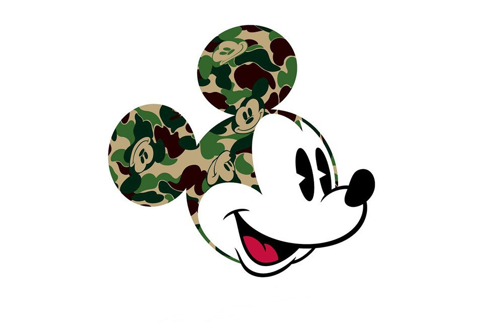 BAPE x Disney pour une nouvelle collection capsule MICKEY MOUSE
