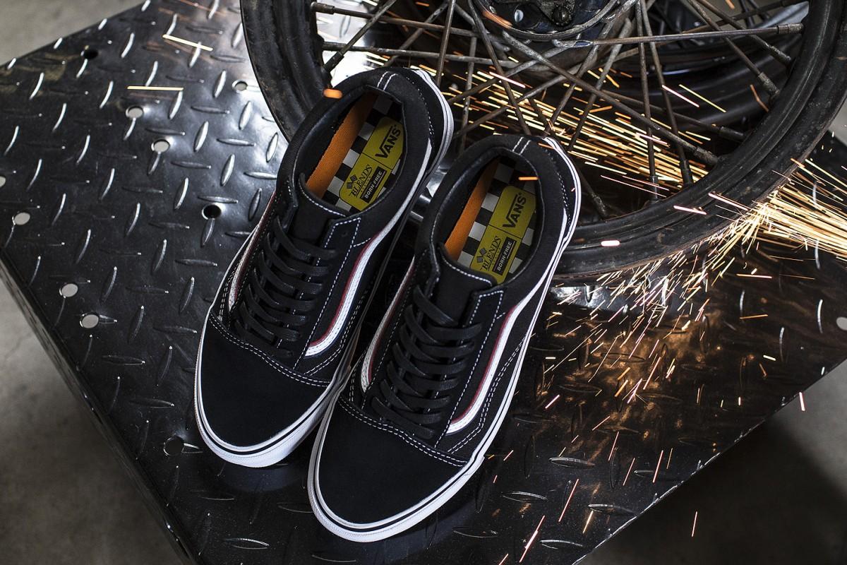 La nouvelle paire de Vans en collaboration avec Blends