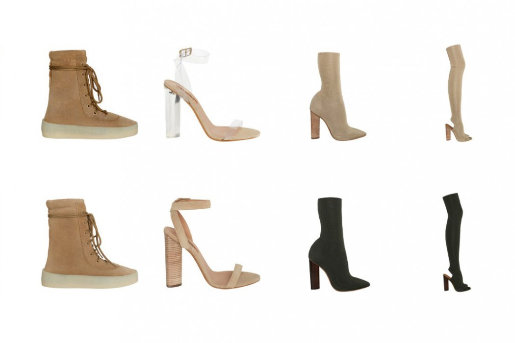 chaussure kanye west femme