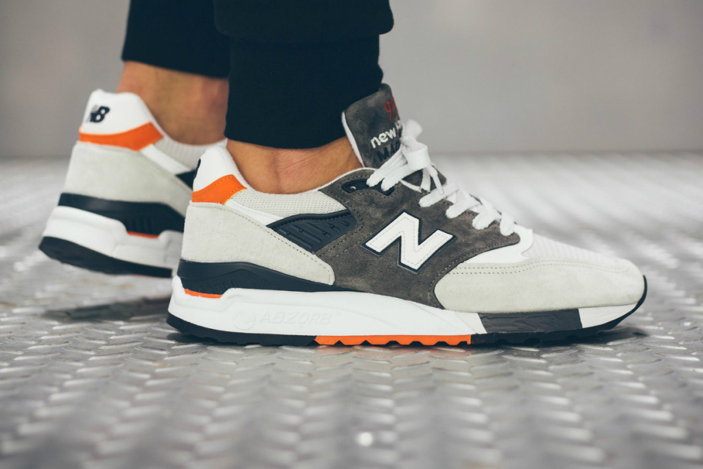 Orange is the New Balance 998
