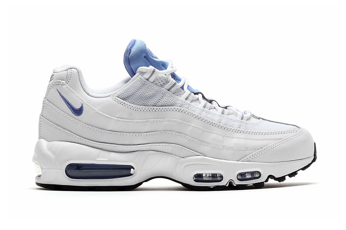 ... nike air max 95 essential white chalk blue stealth
