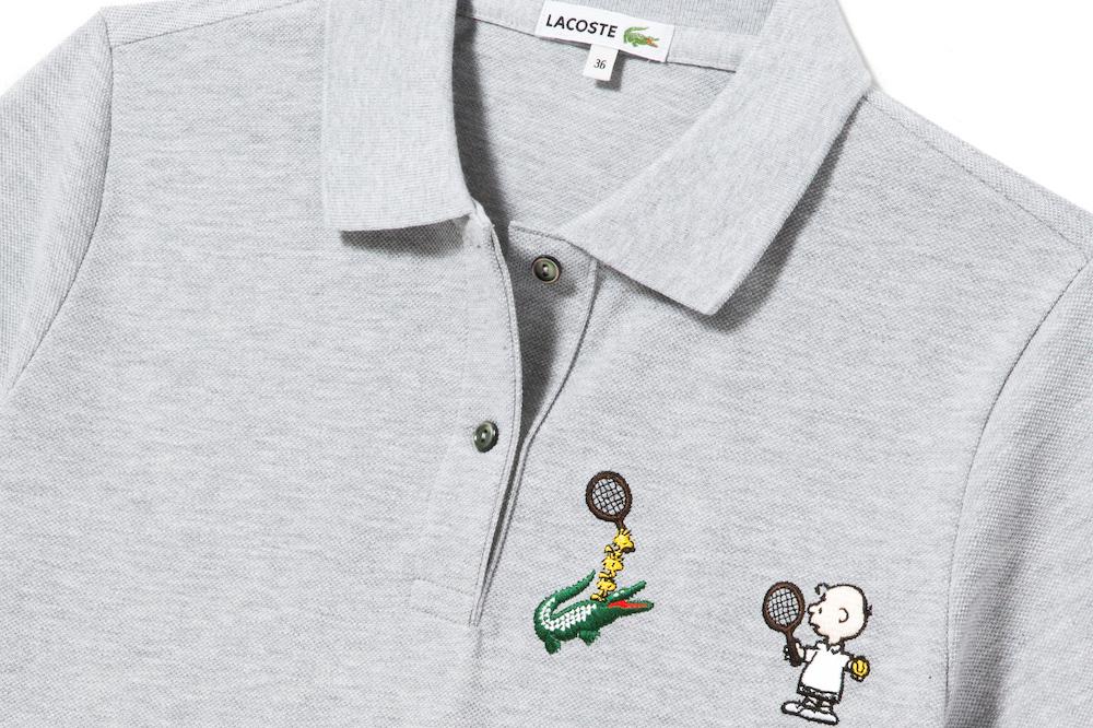 La collaboration entre Lacoste et Les Peanuts de 2016
