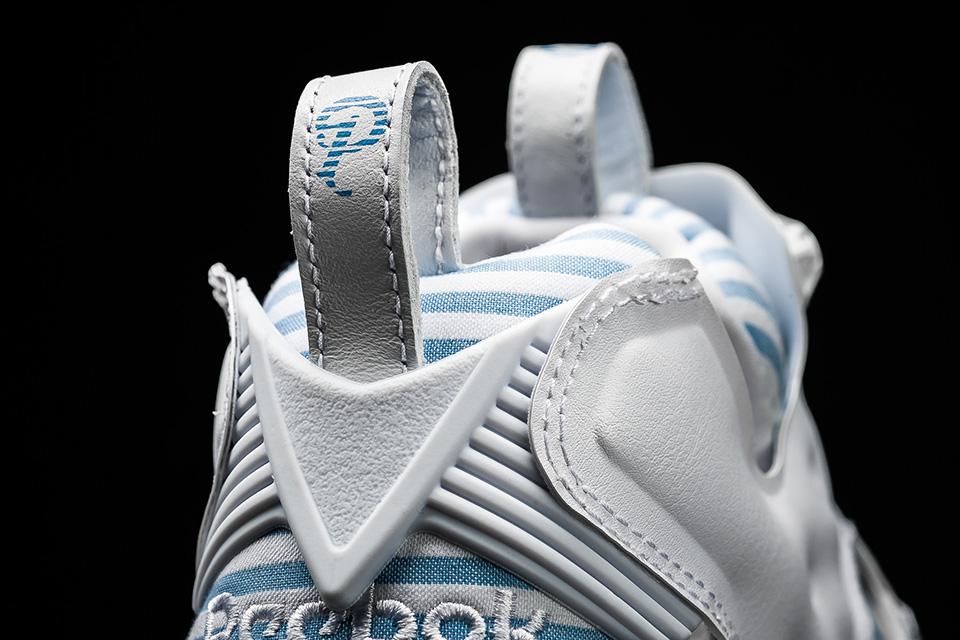 Vue arrière de la sneakers Reebok x Sneaker Politics