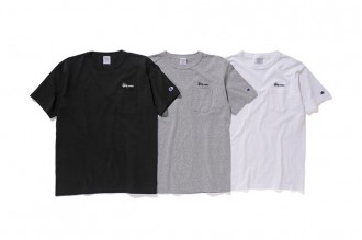 T-shirt de la collection Stussy x Champion