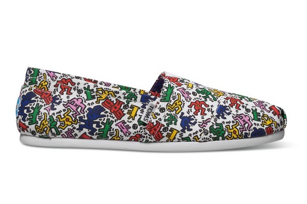 LA COLLABORATION TOMS x KEITH HARING FOUNDATION