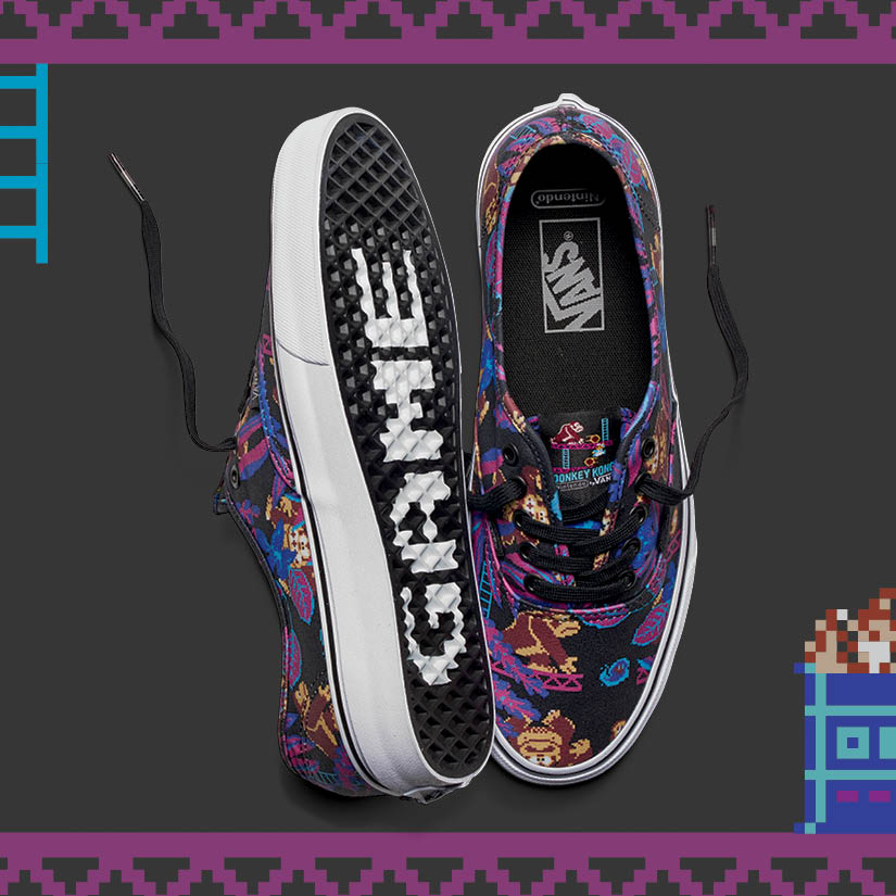 La collection de la collaboration Vans x Nintendo