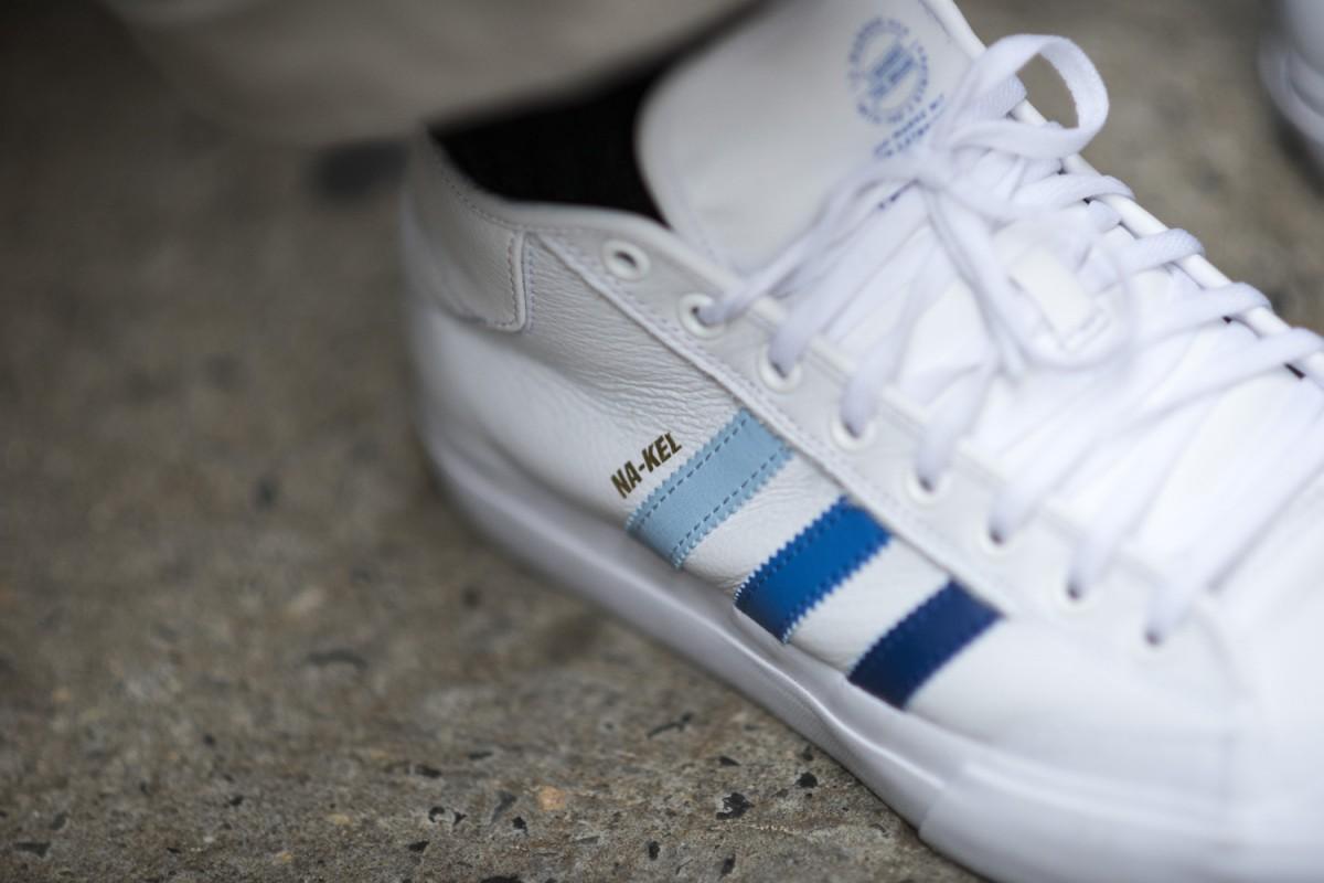 Adidas Skateboarding dévoile une nouvelle sneakers, la Na-Kel Smith Matchcourt Mid.8