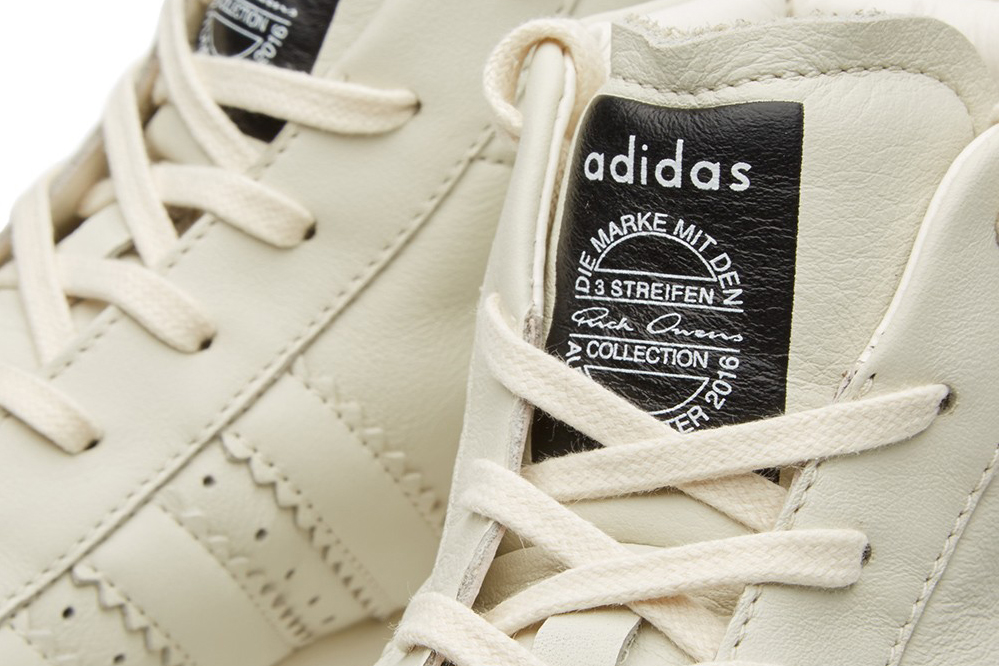 Adidas et Rick Owens font équipe pour sortir une nouvelle sneakers.4