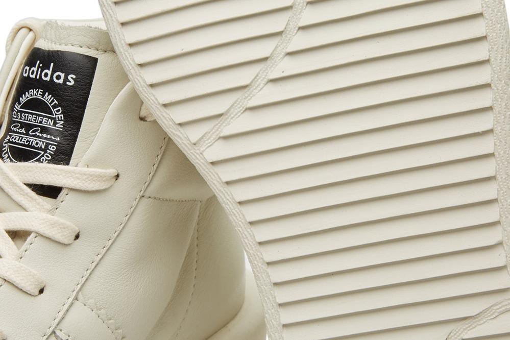 Adidas et Rick Owens font équipe pour sortir une nouvelle sneakers.5