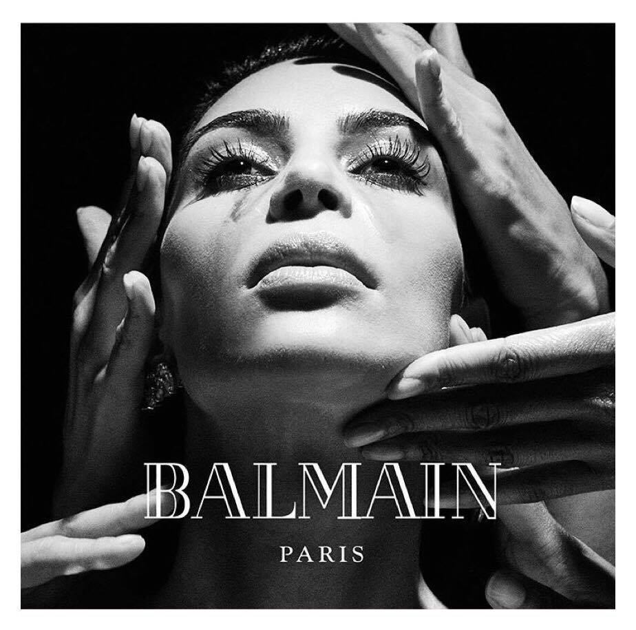 Balmain FW16, featuring Kimye & others