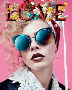 Cara Delevingne LOVE - TRENDS periodical