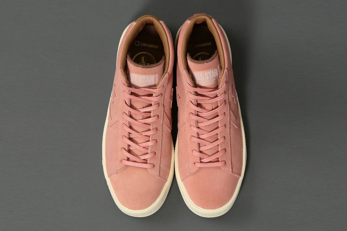 Converse, United Arrows & Sons collaborent pour sortir une nouvelle sneakers Pro Leather .2
