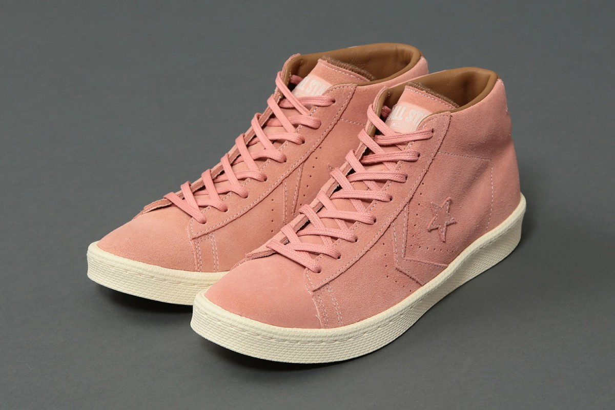 Converse, United Arrows & Sons collaborent pour sortir une nouvelle sneakers Pro Leather