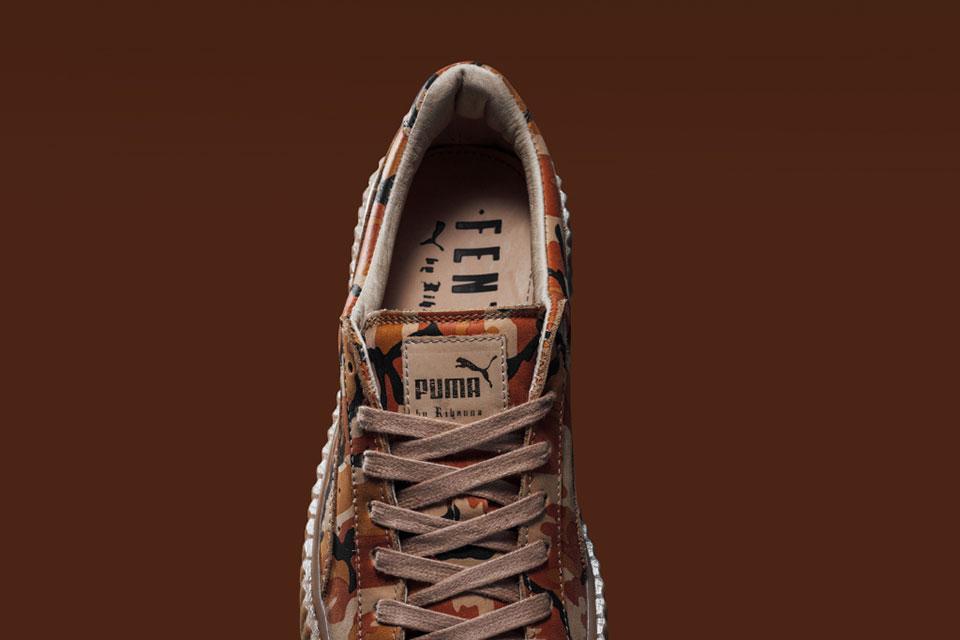 Découvrez la Puma x Rihanna Fenty Camo Creeper