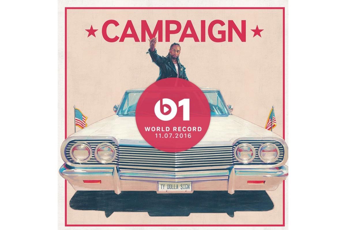 Découvrez le single Campaign de Ty Dolla $ign en featuring avec Future