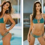 Emily Ratajkowski est le nouveau visage de la campagne de bikini de Amore + Sorvete