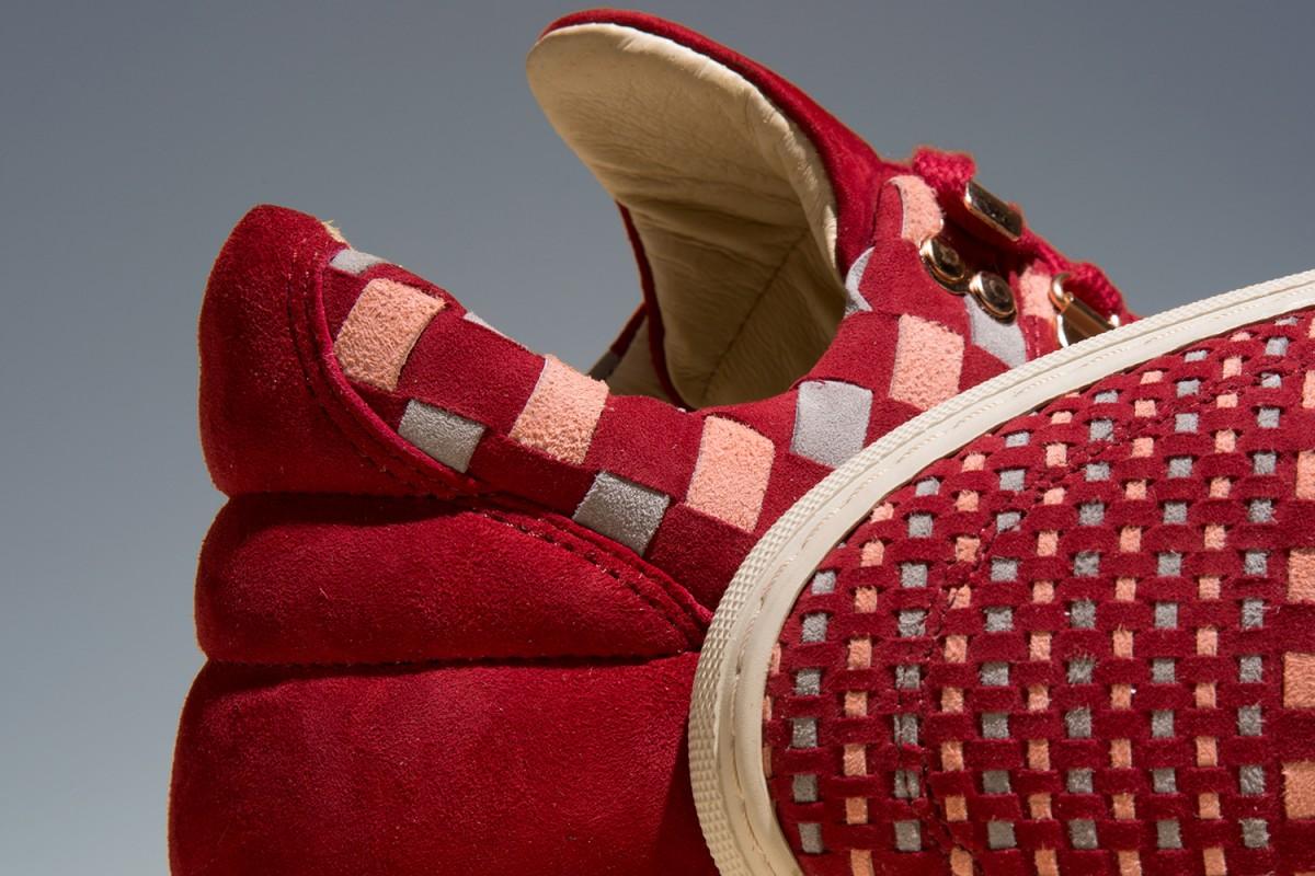 Filling Pieces et La Ferramenta collaborent pour une édition limitée de sneakers.7