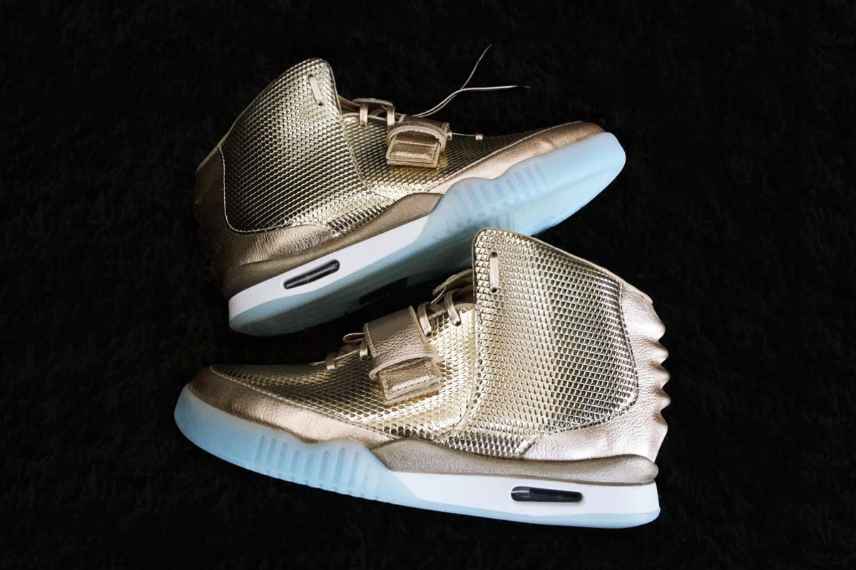 John Geiger et LASCO dévoilent la Nike Air Yeezy 2 Golden Child