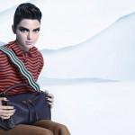Kendall Jenner est la nouvelle égérie de la campagne automne/hiver 2016 de Fendi