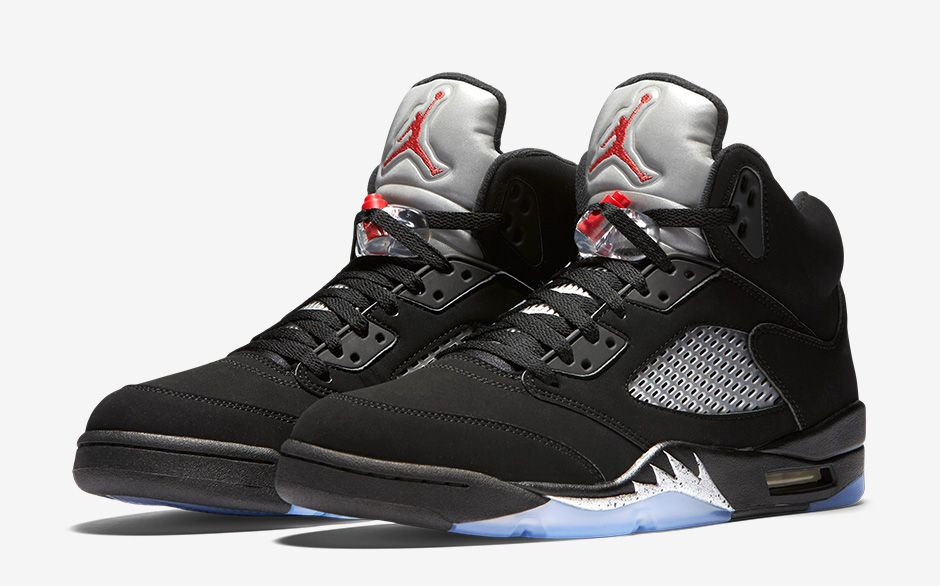 Nike Air Jordan 5 Retro OG « Metallic Silver »