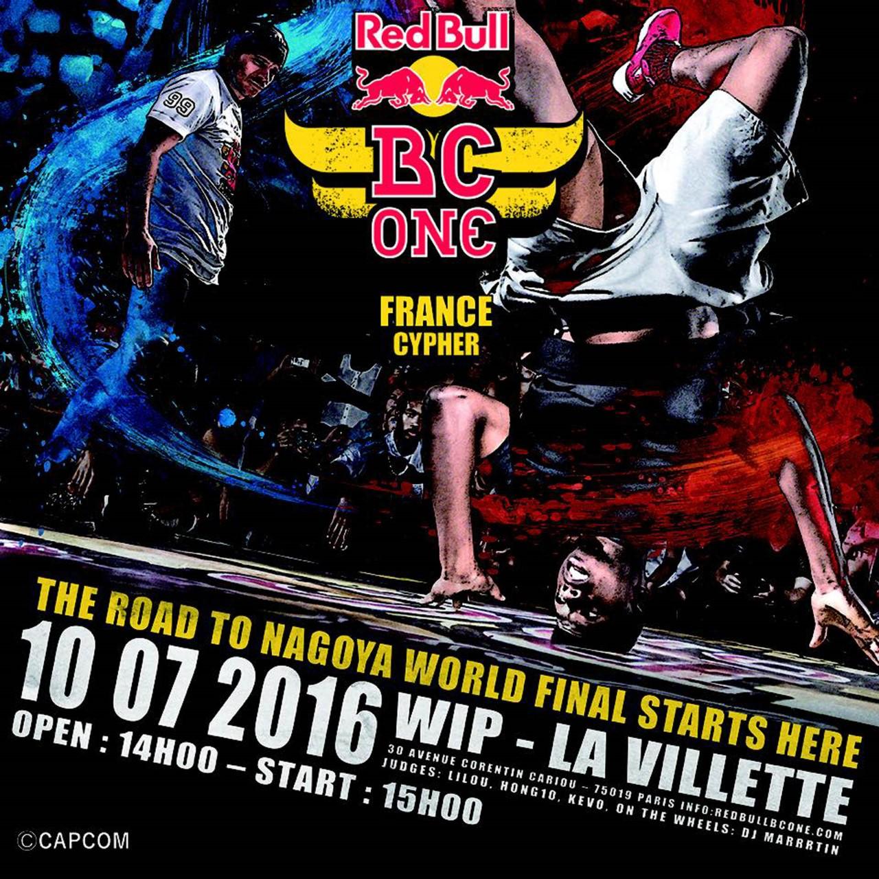 Gagnez vos places pour la finale nationale du Red Bull BC One !