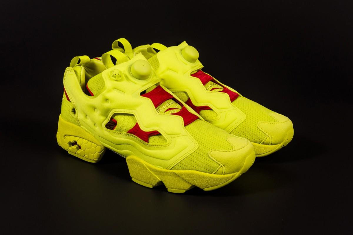 Reebok et Packer Shoes sortent un nouveau pack de sneakers intitulée Instapump Fury OG Division.10