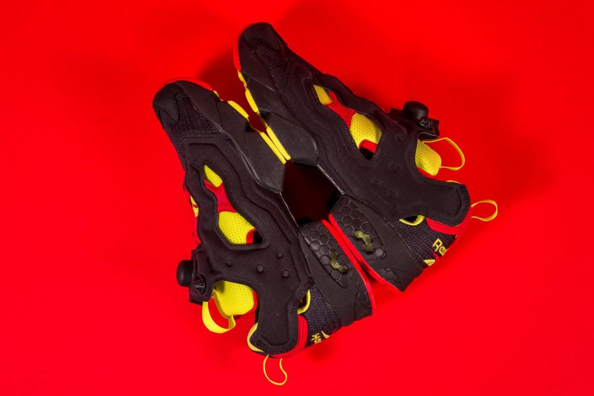 Reebok et Packer Shoes sortent un nouveau pack de sneakers intitulée Instapump Fury OG Division.7