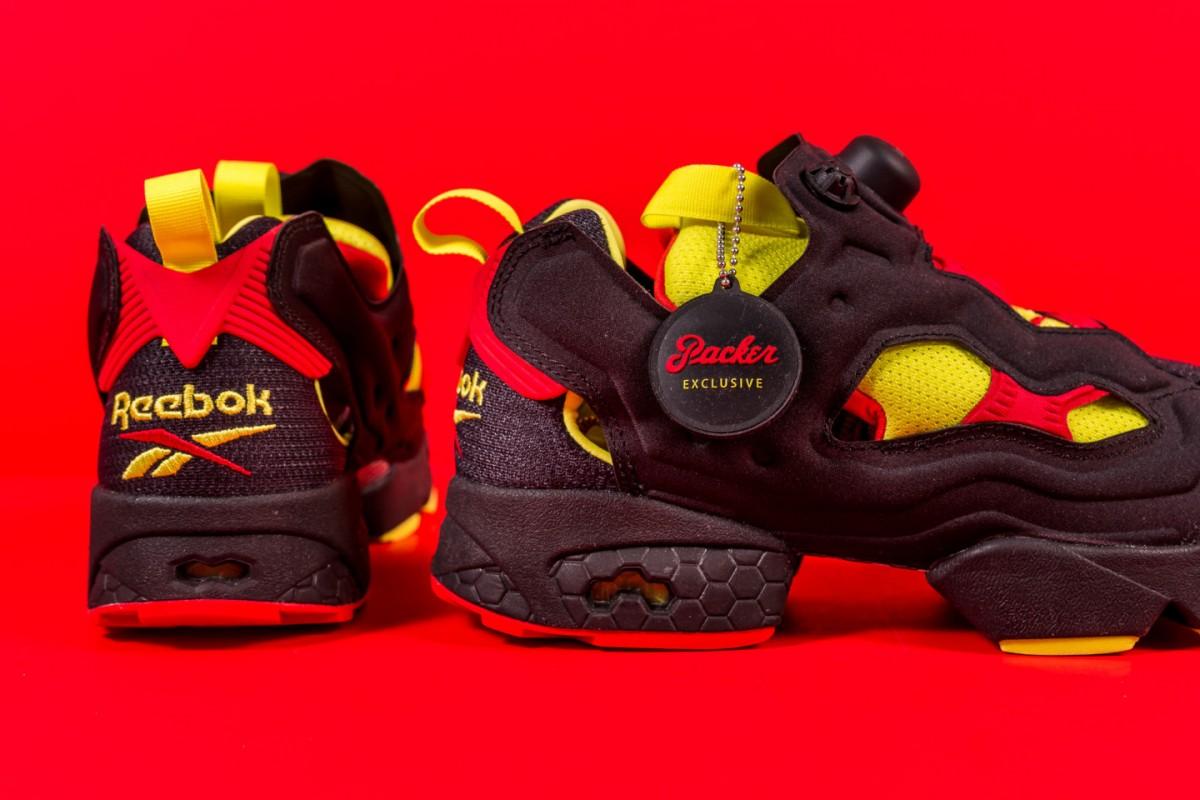 Reebok et Packer Shoes sortent un nouveau pack de sneakers intitulée Instapump Fury OG Division.8