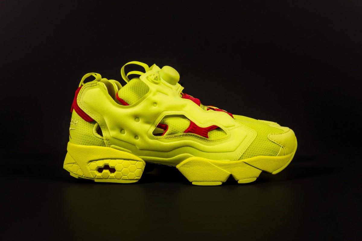Reebok et Packer Shoes sortent un nouveau pack de sneakers intitulée Instapump Fury OG Division.9