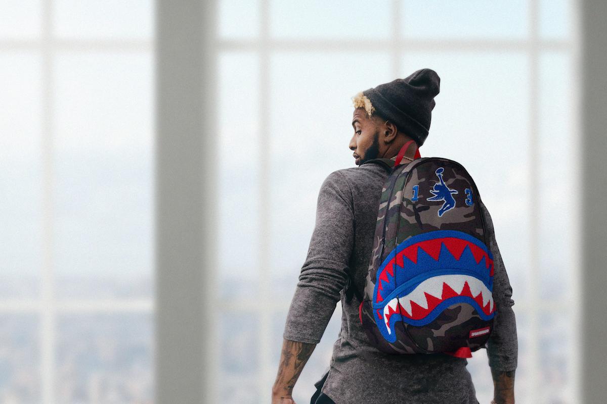Odell Beckham Jr. x Sprayground «Giant Shark»