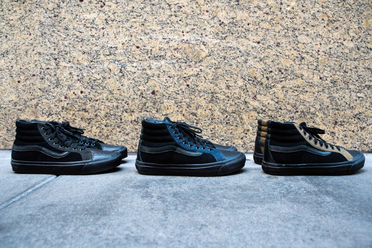 Voici la Vans x Engineered Garments SK8- Hi LX
