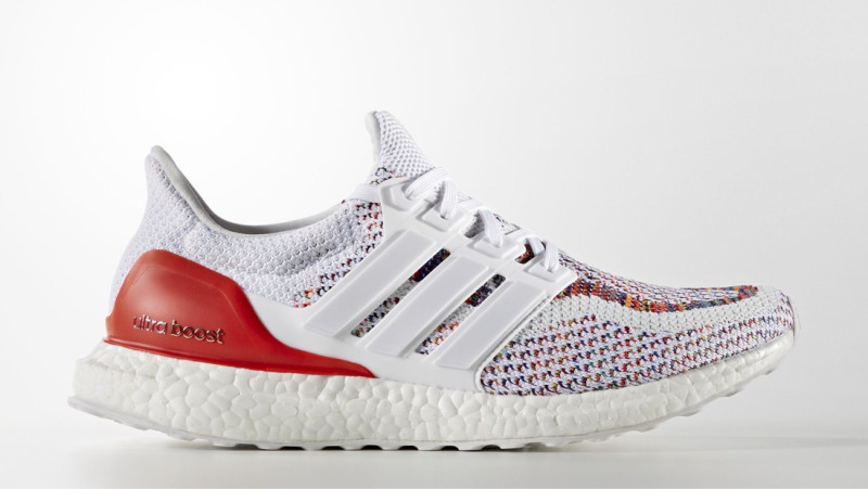 Adidas Ultra Boost « Multicolor 2.0  » : une sneaker haute en couleurs !
