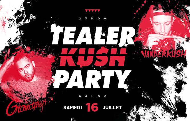 Gagnez 2×2 places pour la Tealer Kush Party !