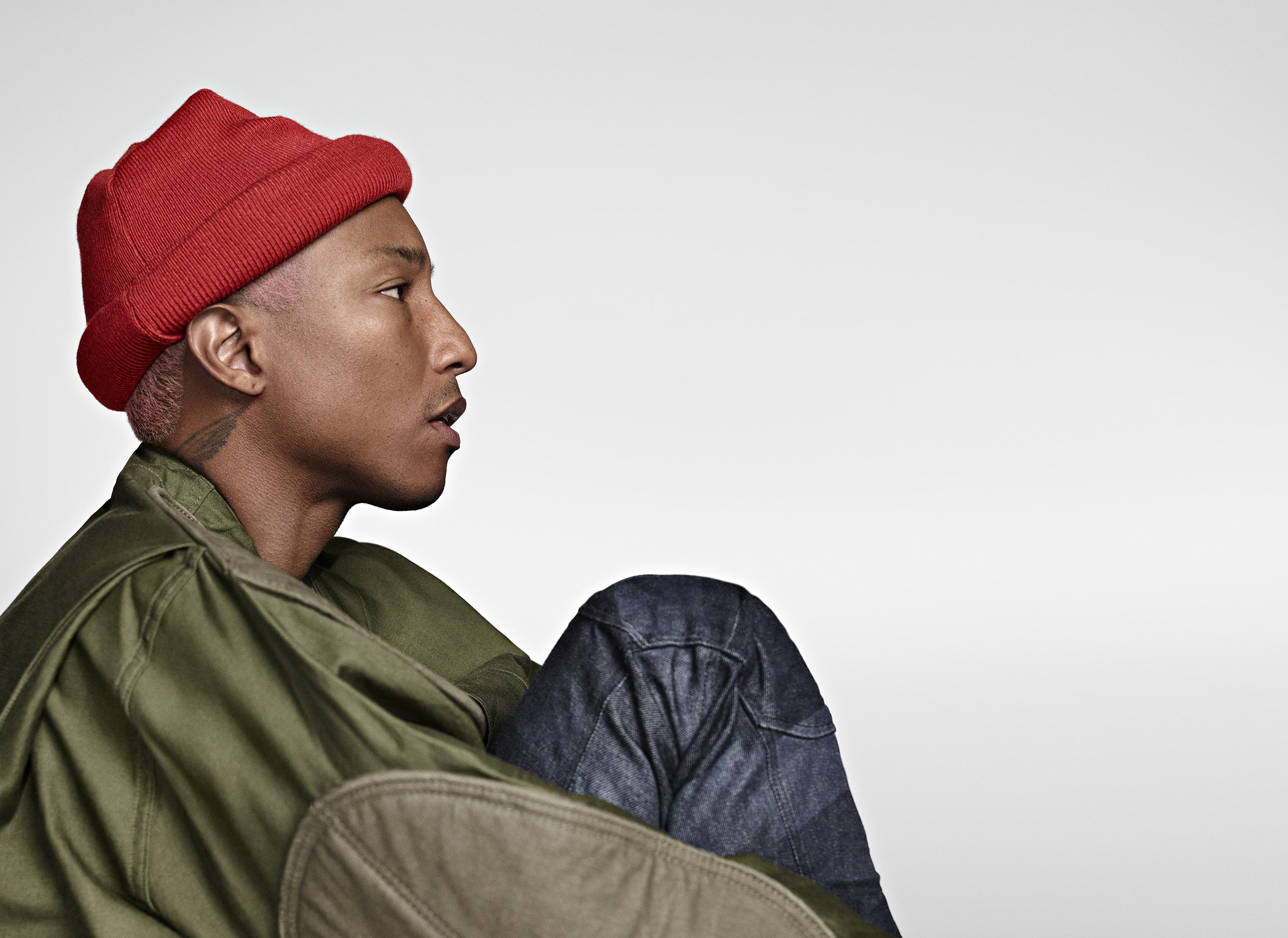 Pharrell Williams parle de sa première campagne avec G Star